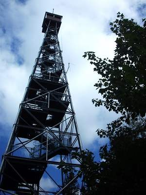 photo of Temagami fire tower